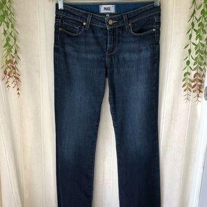 PAIGE PETITE Skyline Boot Cut Jeans